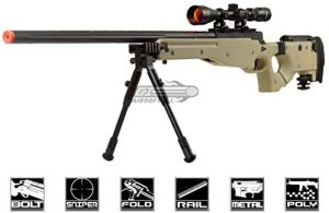 Well Mb08 Awesome Airsoft Bolt Action Sniper Rifle